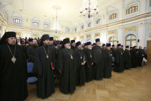 Состоялось ежегодное собрание духовенства Санкт-Петербургской епархии