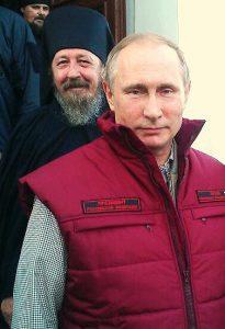 Президент России Владимир Путин посетил Коневский мужской монастырь