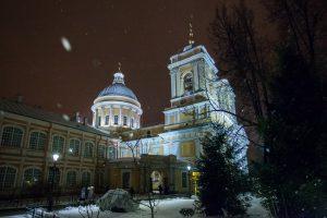 304 года назад (1713 г.) в Санкт-Петербурге была основана Свято-Троицкая Александро-Невская лавра