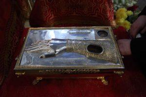 Ковчег с мощами святой преподобномученицы княгини Елизаветы Федоровны прибыл в Санкт-Петербург