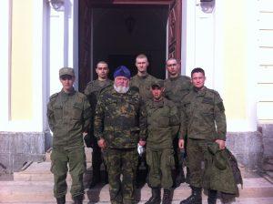 На Коневце установлено оборудование для волонтерского лагеря