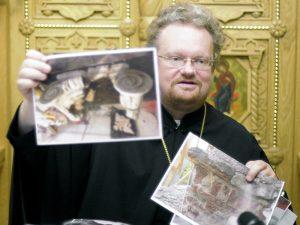 На петербургском подворье Коневского монастыря cостоялась пресс-конференция, посвященная 125-летию Выборгской епархии