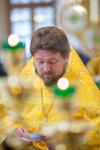 Первая Божественная Литургия совершена в храме святого благоверного князя Феодора Новгородского