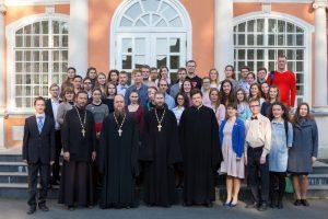 В Александро-Невской Лавре состоялось первое в этом году собрание Лаврского объединения молодежи