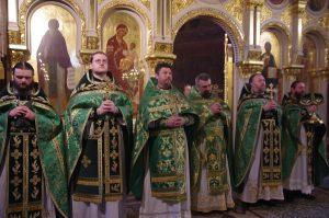 Престольный праздник Свято-Троицкой Сергиевой мужской пустыни