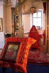 В Тихвинском Введенском женском монастыре отметили День памяти св. вмц. Екатерины