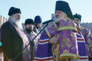 Храм святого Василия Великого заложен в Санкт-Петербурге