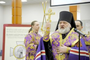 Епископ Кронштадтский Назарий открыл форум «Александровский стяг»