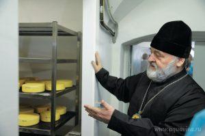 В Александро-Невской лавре открылась своя сыроварня.