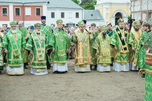 Епископ Кронштадтский Назарий принял участие в юбилейных торжествах, посвященных 625-летию Коневского Рождество-Богородичного монастыря
