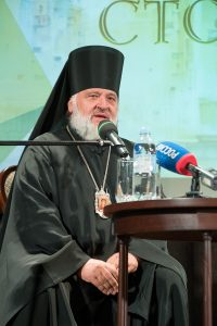 Встреча с епископом Назарием состоялась в Доме журналиста